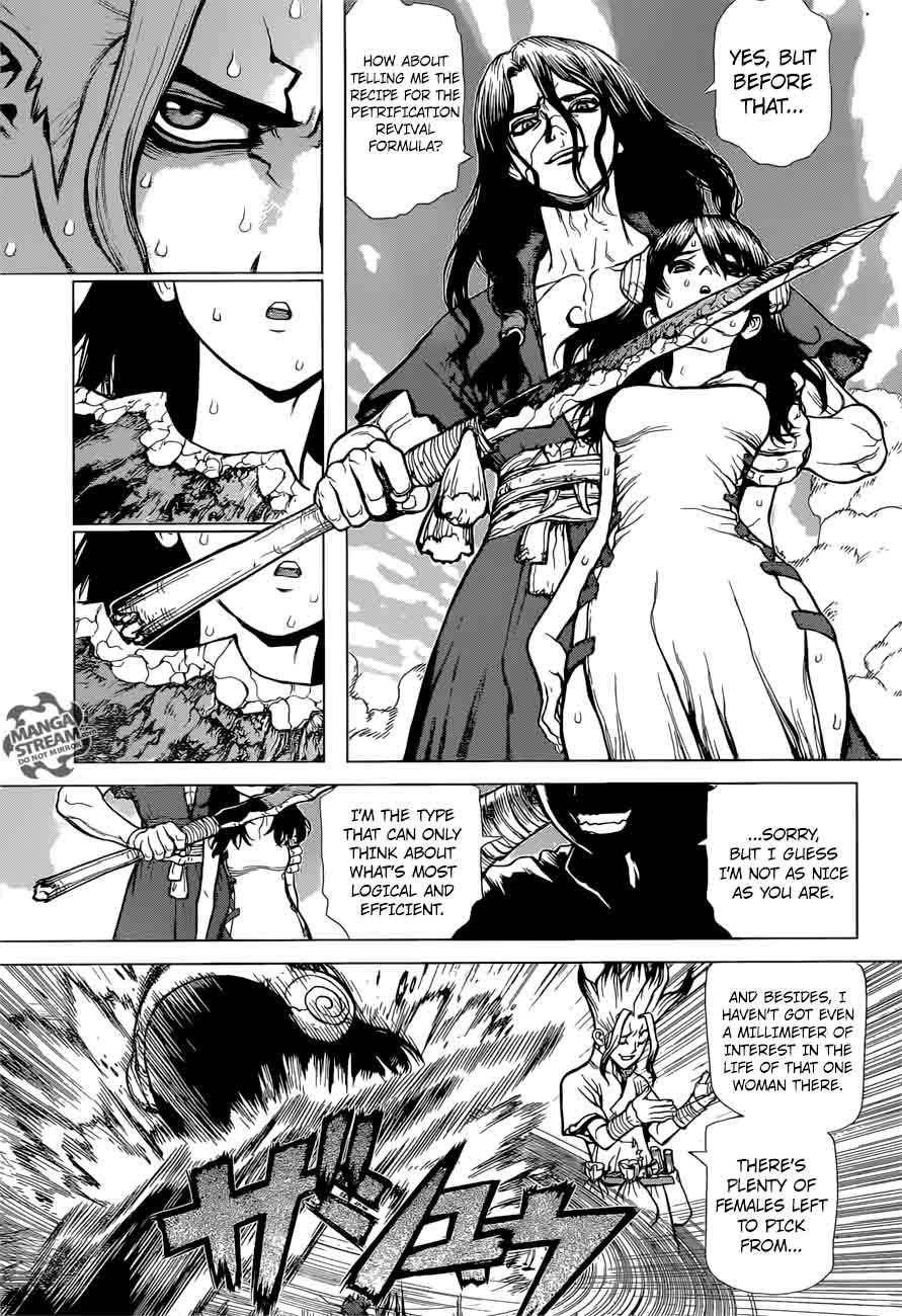 Dr. Stone : Chapter 9 - Senku vs Tsukasa image 008