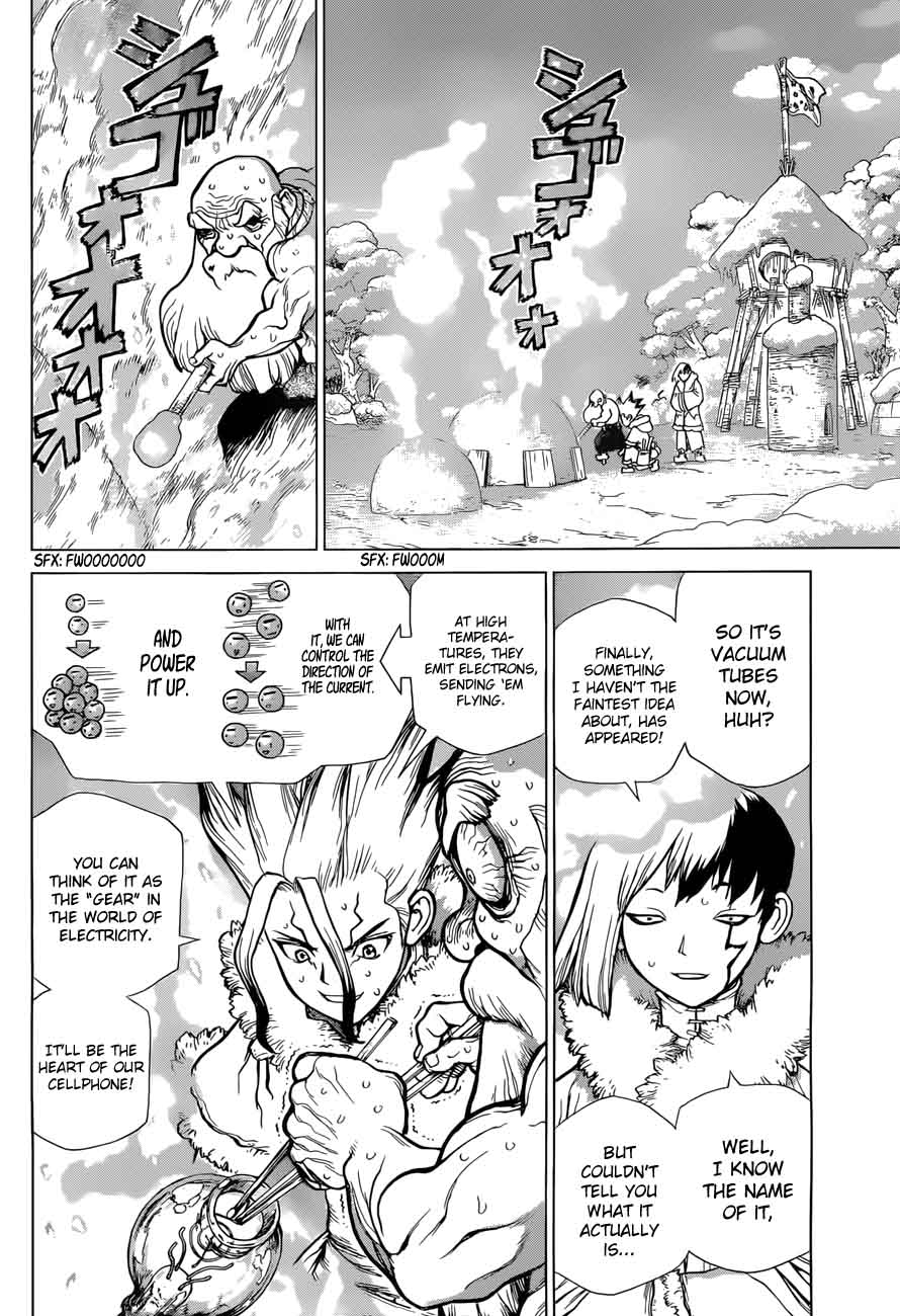 Dr. Stone : Chapter 54 - Glittering Blue Jewel image 006