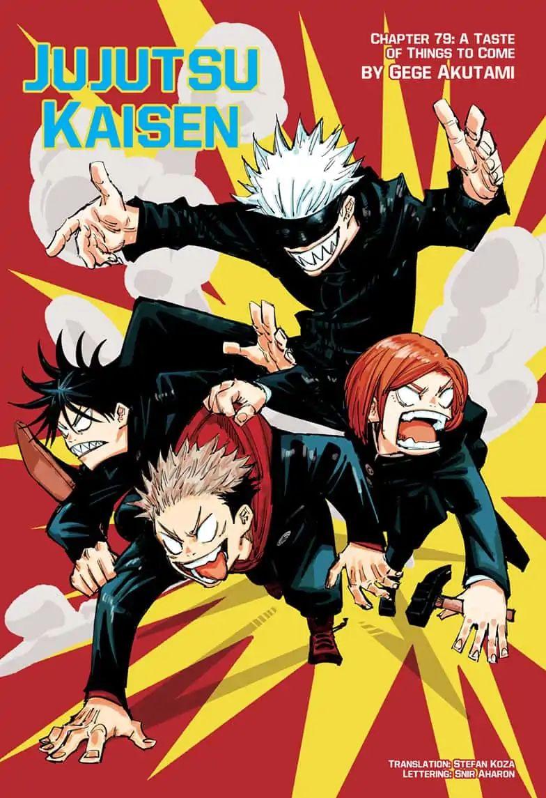 Jujutsu Kaisen, Chapter 79 image 001