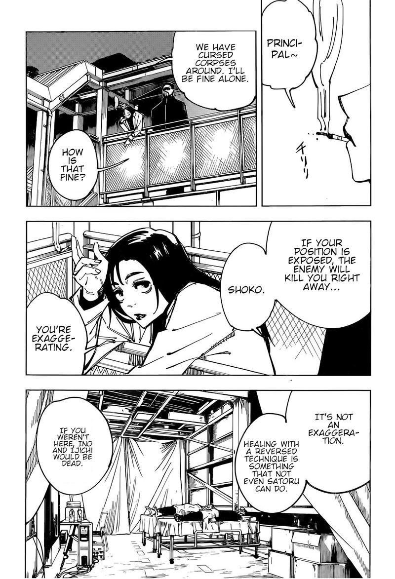 Jujutsu Kaisen, Chapter 113 image 006