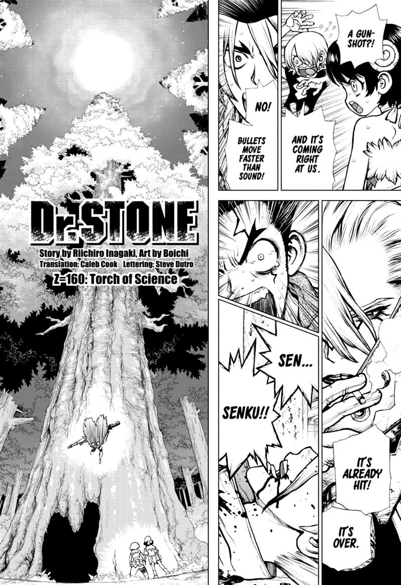 Dr. Stone : Chapter 160 - Torch of Science image 002