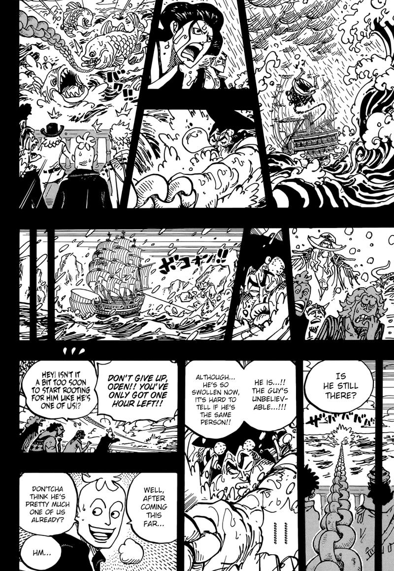 One Piece, Chapter 964 image 008