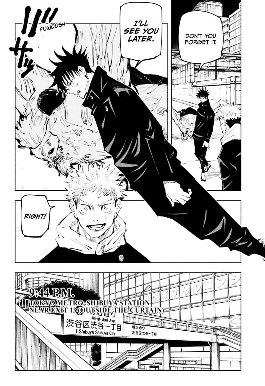 Jujutsu Kaisen, Chapter 98 image 010
