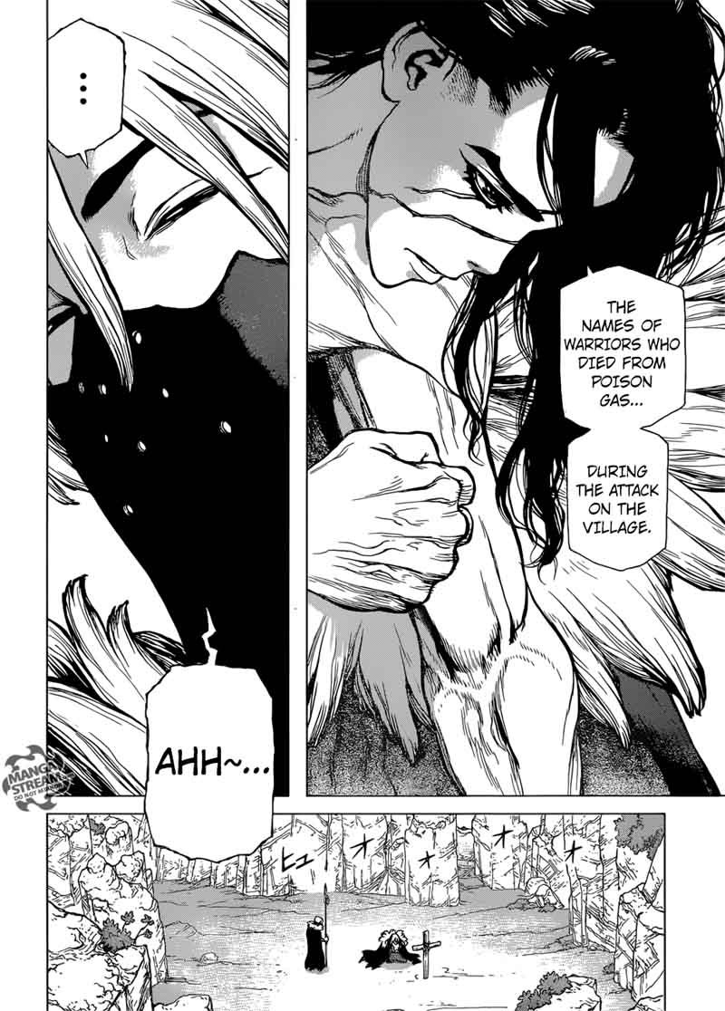 Dr. Stone : Chapter 74 - 20 second of fate image 008
