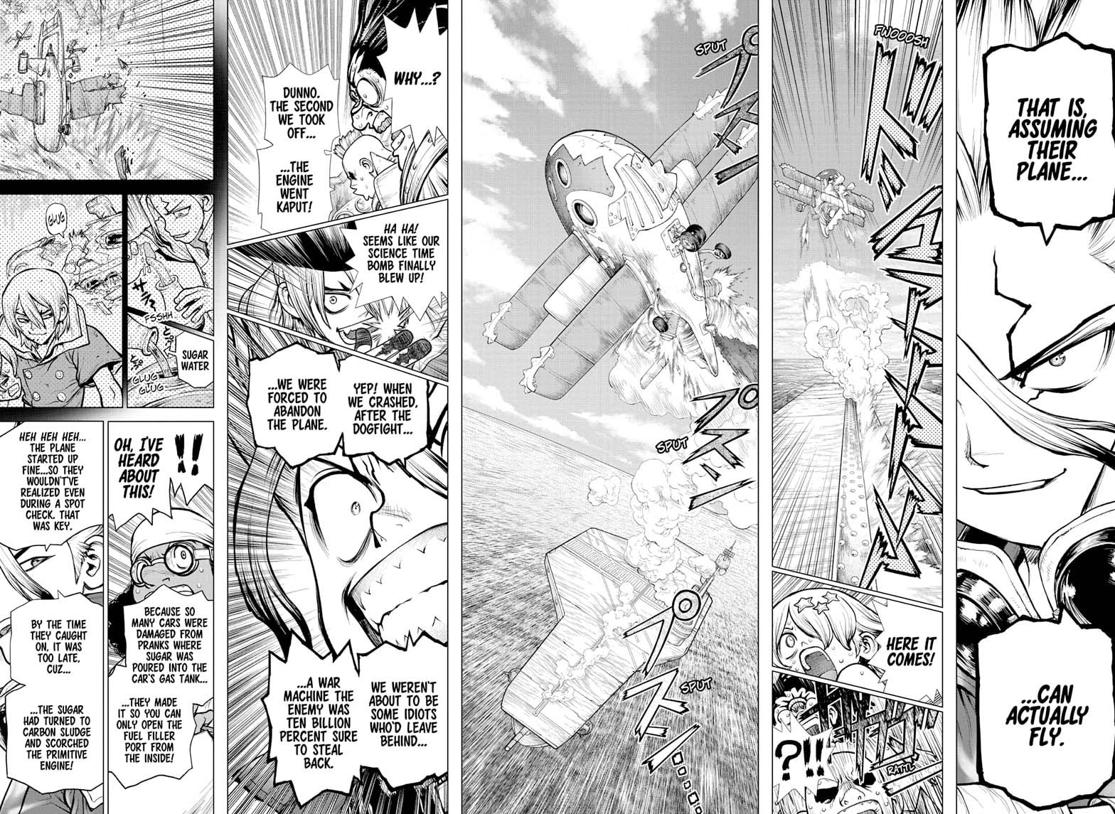 Dr. Stone, Chapter 176 image 011