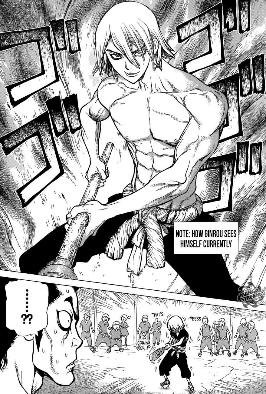 Dr. Stone : Chapter 36 - Kinrou and Ginrou image 017