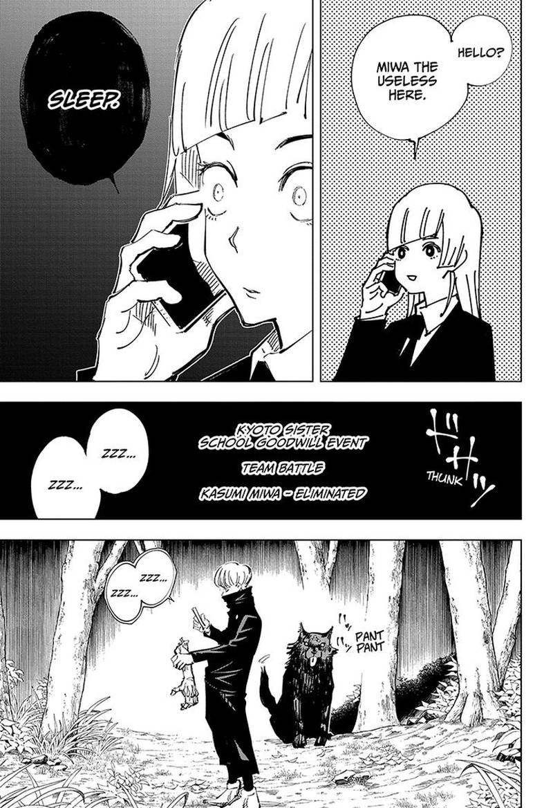Jujutsu Kaisen, Chapter 43 image 011