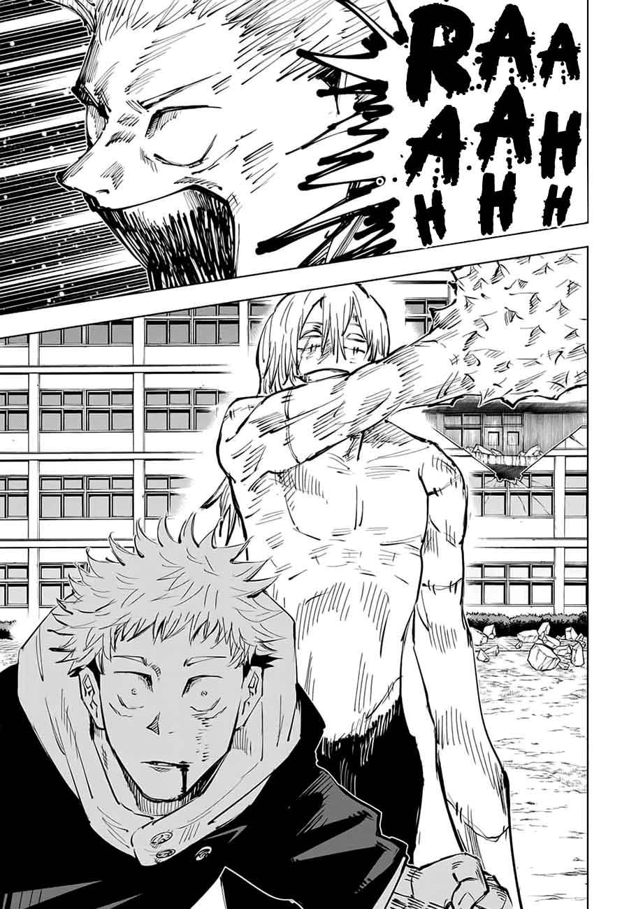 Jujutsu Kaisen, Chapter 28 image 018