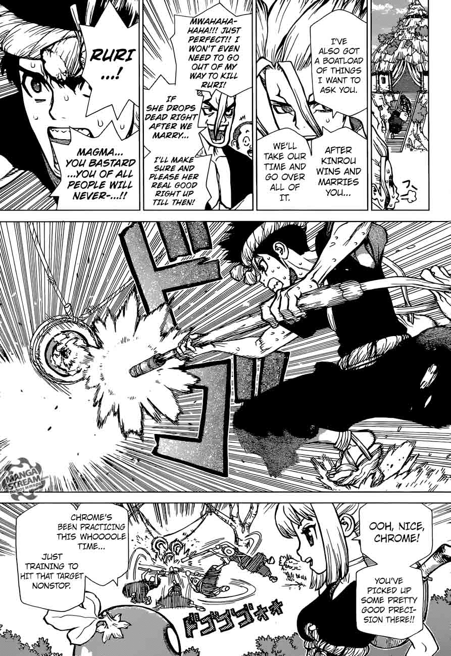 Dr. Stone : Chapter 34 - Village Games of Schemes image 006