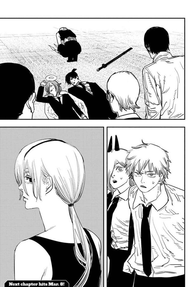 Chainsaw Man, Chapter 60 - Quanxi and Friends Cut Down 49 People image 020