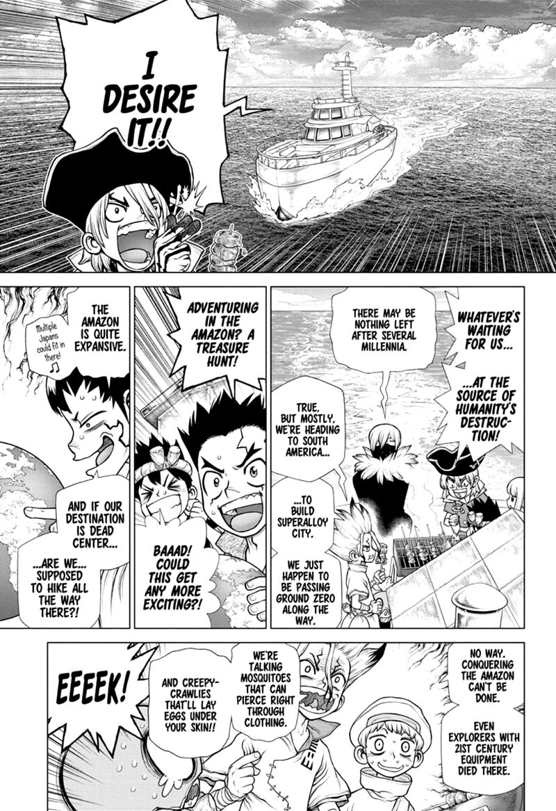 Dr. Stone, Chapter 172 image 003