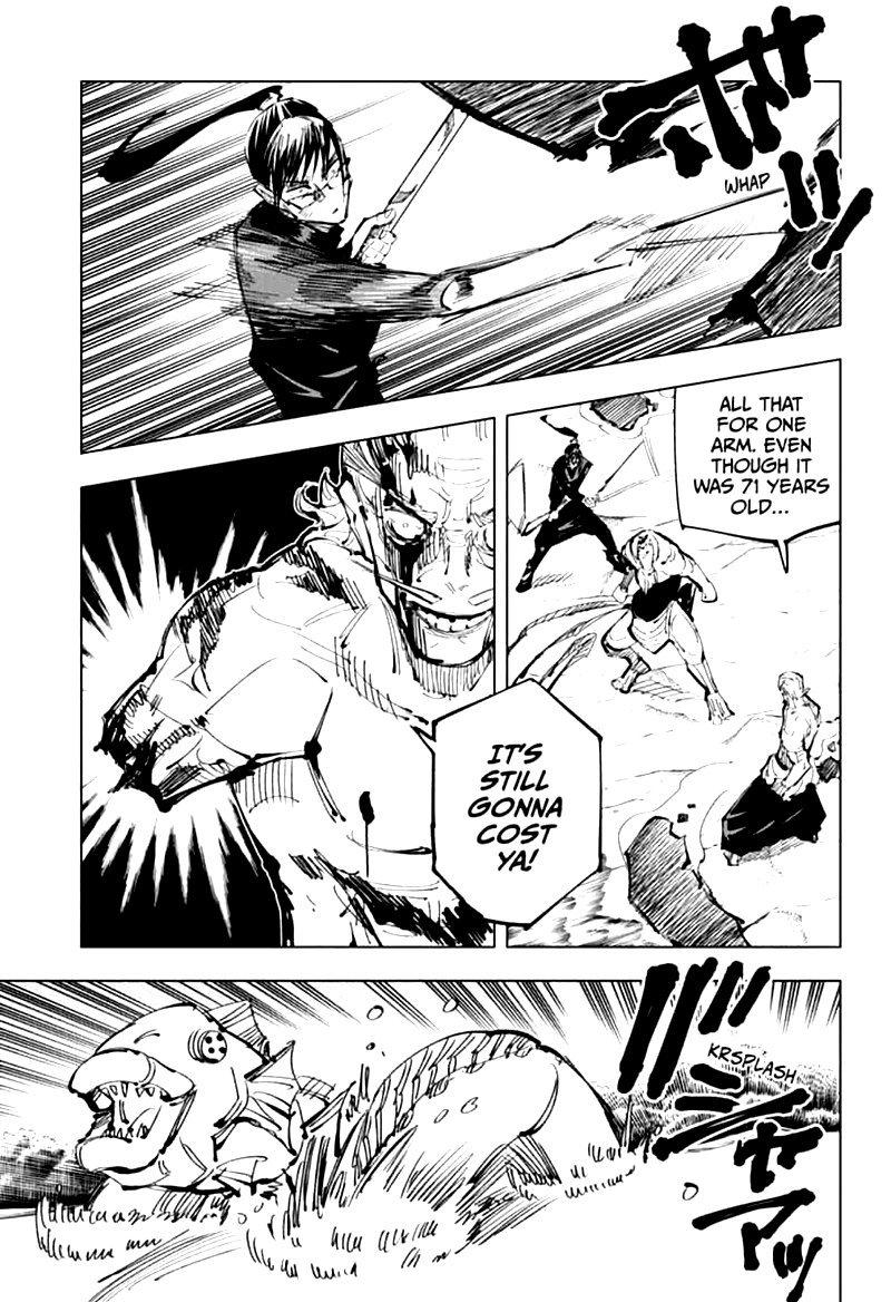 Jujutsu Kaisen, Chapter 109 image 011
