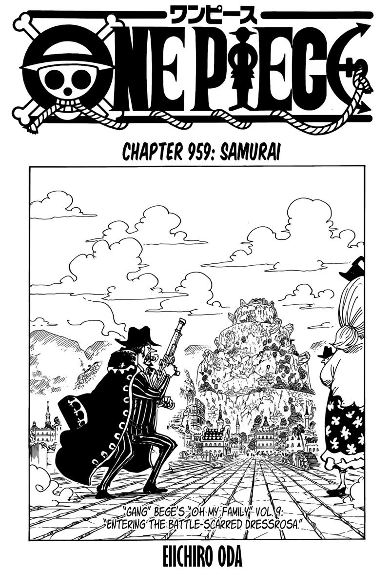 One Piece, Chapter 959 image 001
