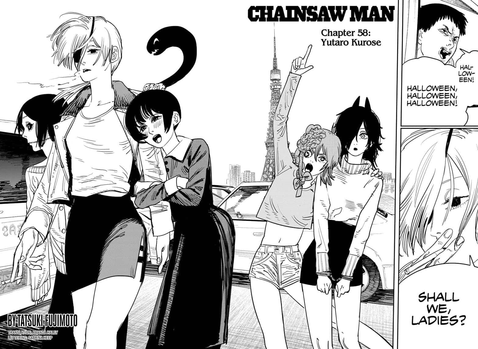 Chainsaw Man, Chapter 58 - Yutaro Kurose image 002