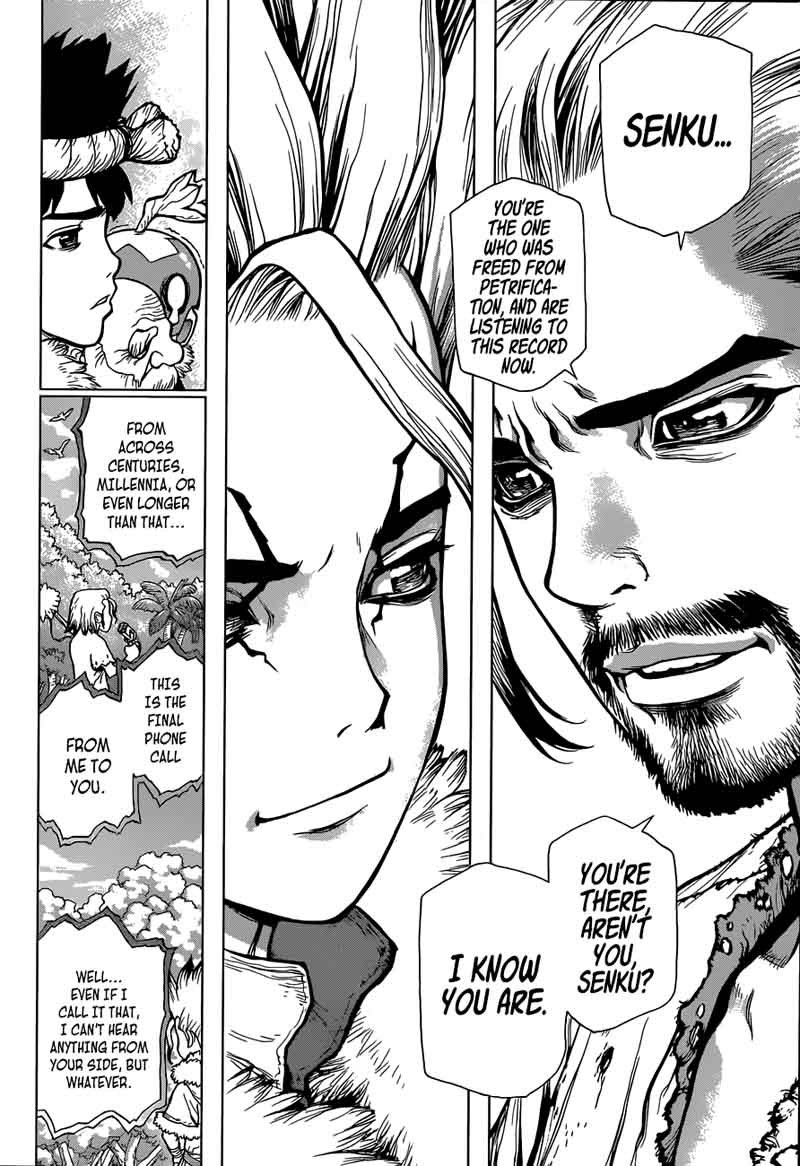 Dr. Stone : Chapter 60 - The Angels songs and the Demons Whisper image 009