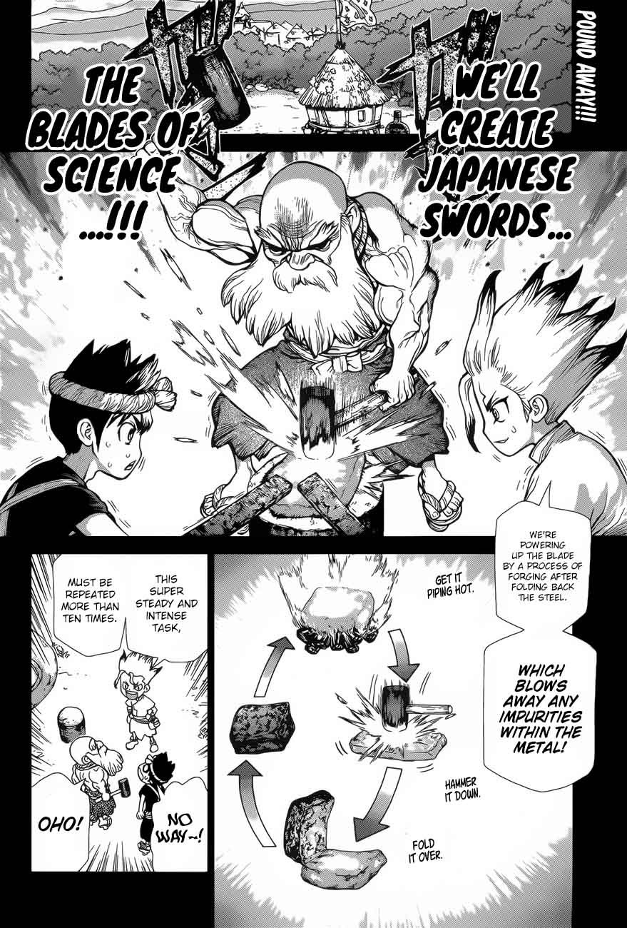 Dr. Stone : Chapter 48 - Blade of Science image 002