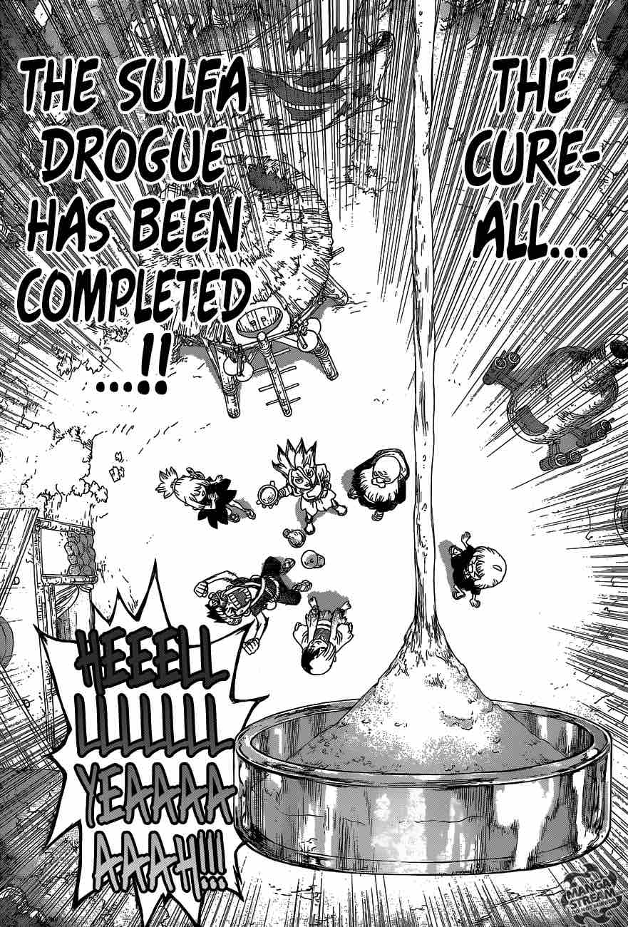 Dr. Stone : Chapter 40 - The fruits of 2,000,000 years image 017
