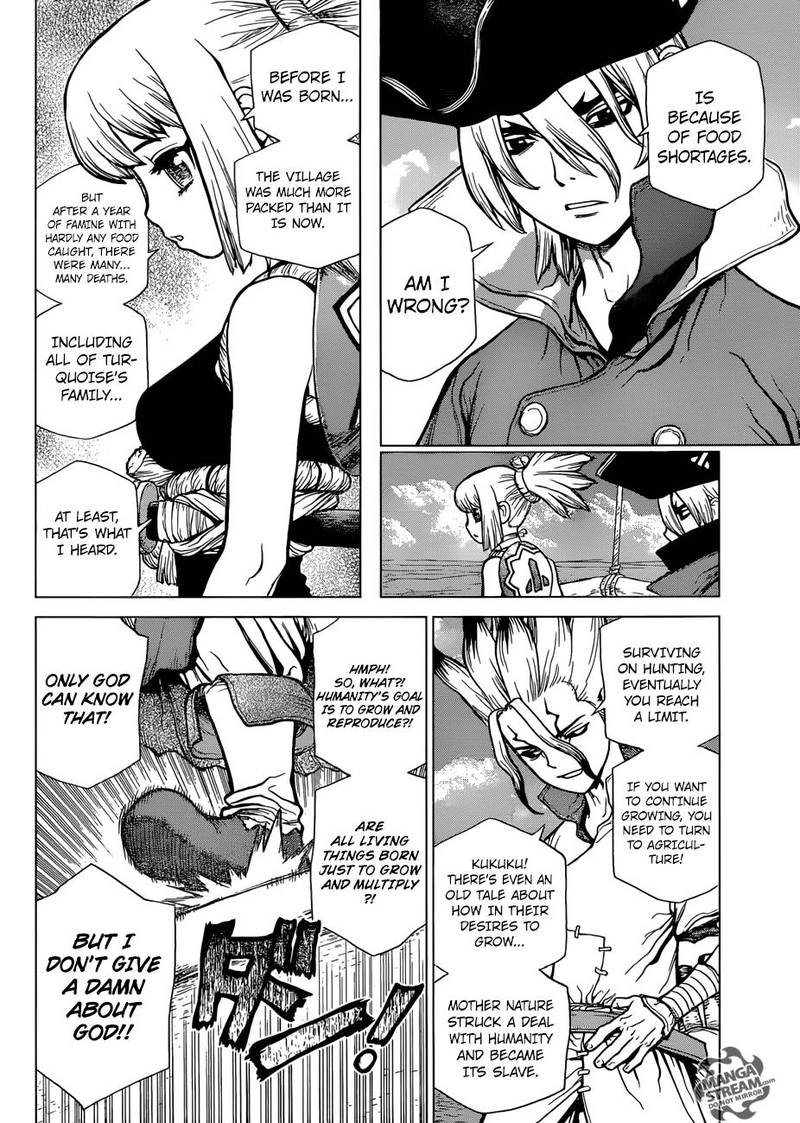 Dr. Stone : Chapter 90 - New World Map image 013