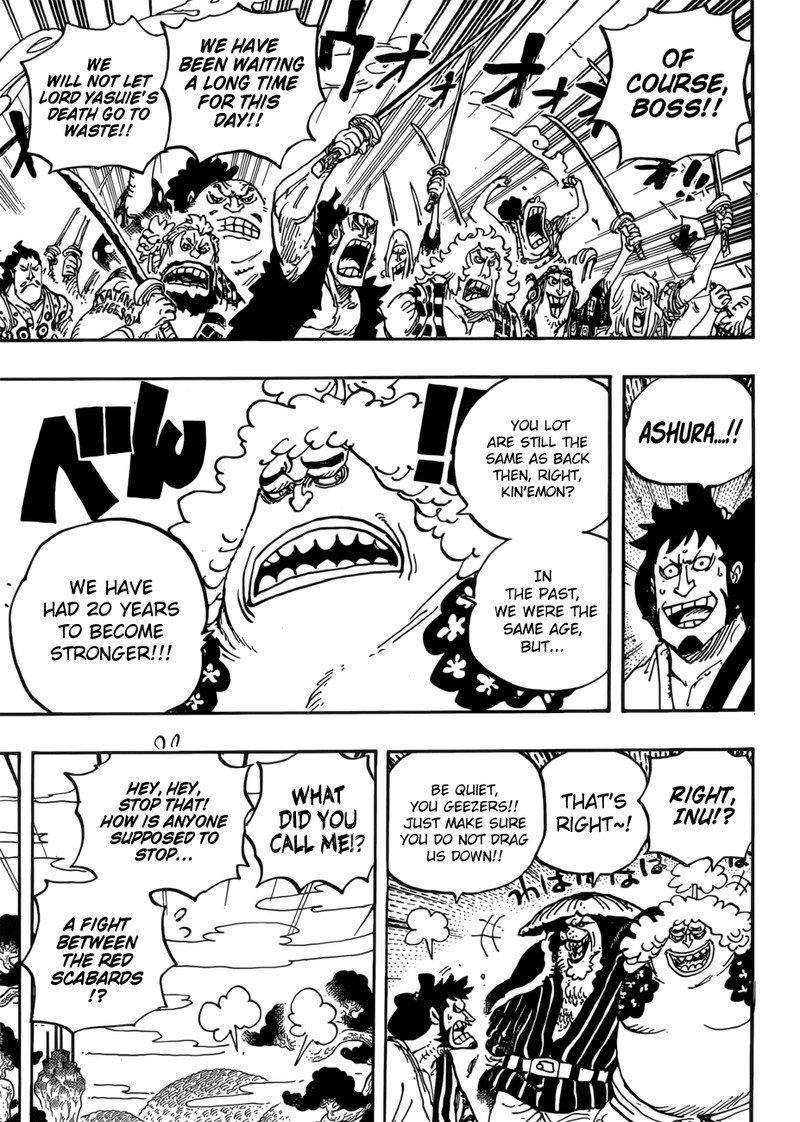 One Piece, Chapter 950 image 012