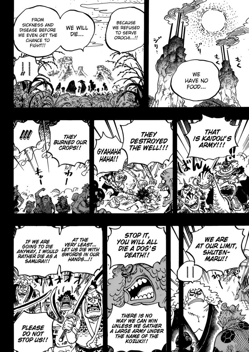 One Piece, Chapter 950 image 009