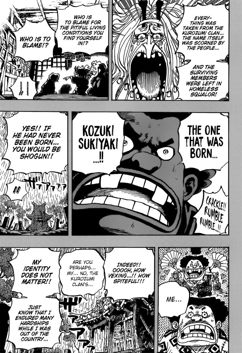 One Piece, Chapter 965 image 011