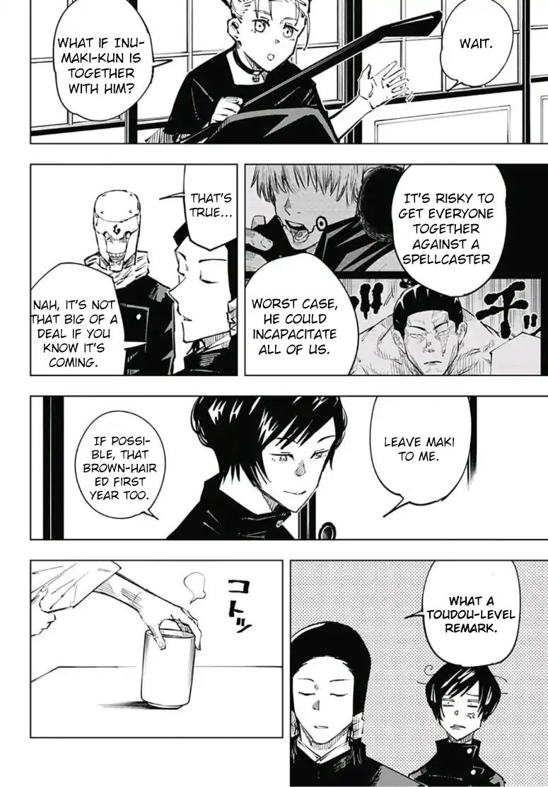 Jujutsu Kaisen, Chapter 33 image 013