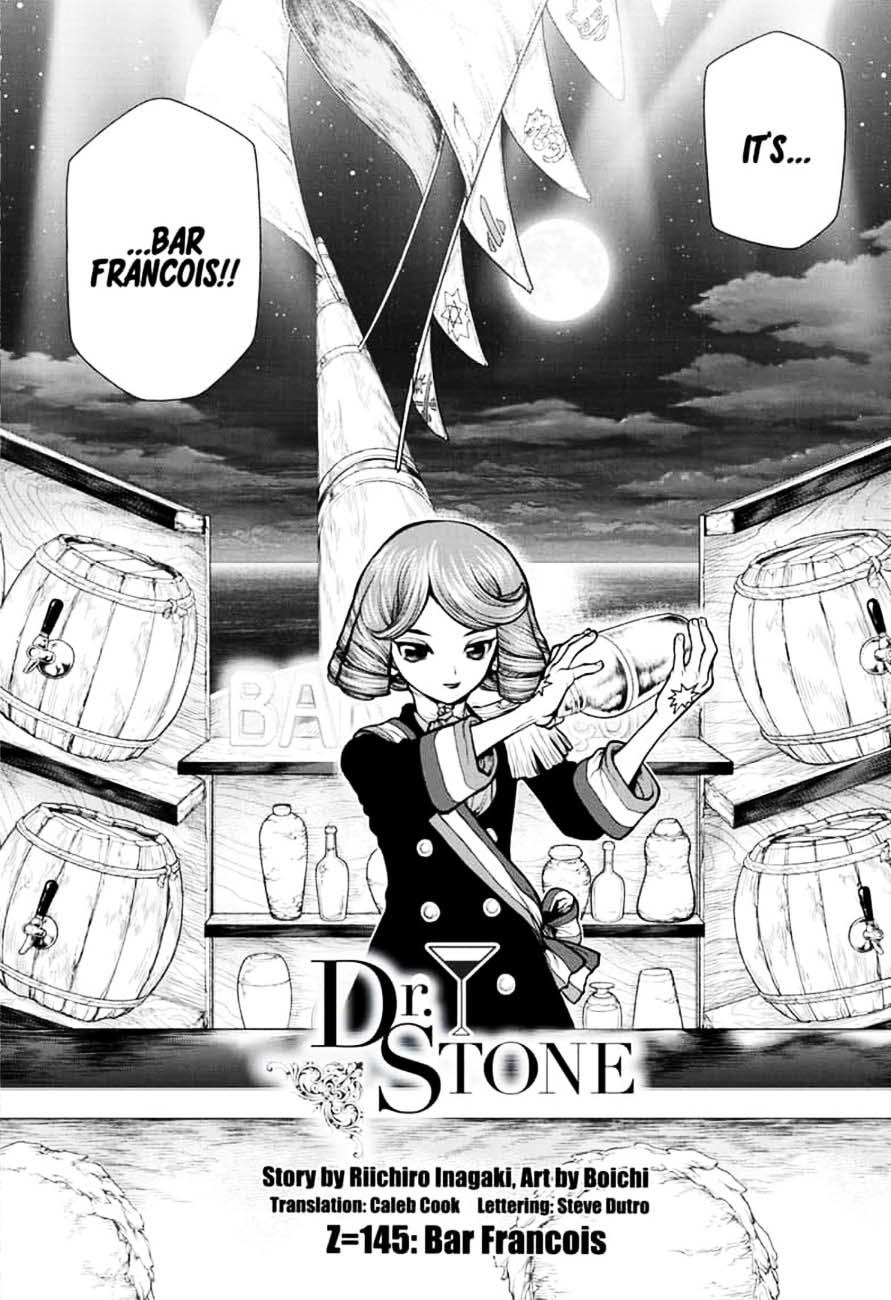 Dr. Stone : Chapter 145 - Bar Francois image 003
