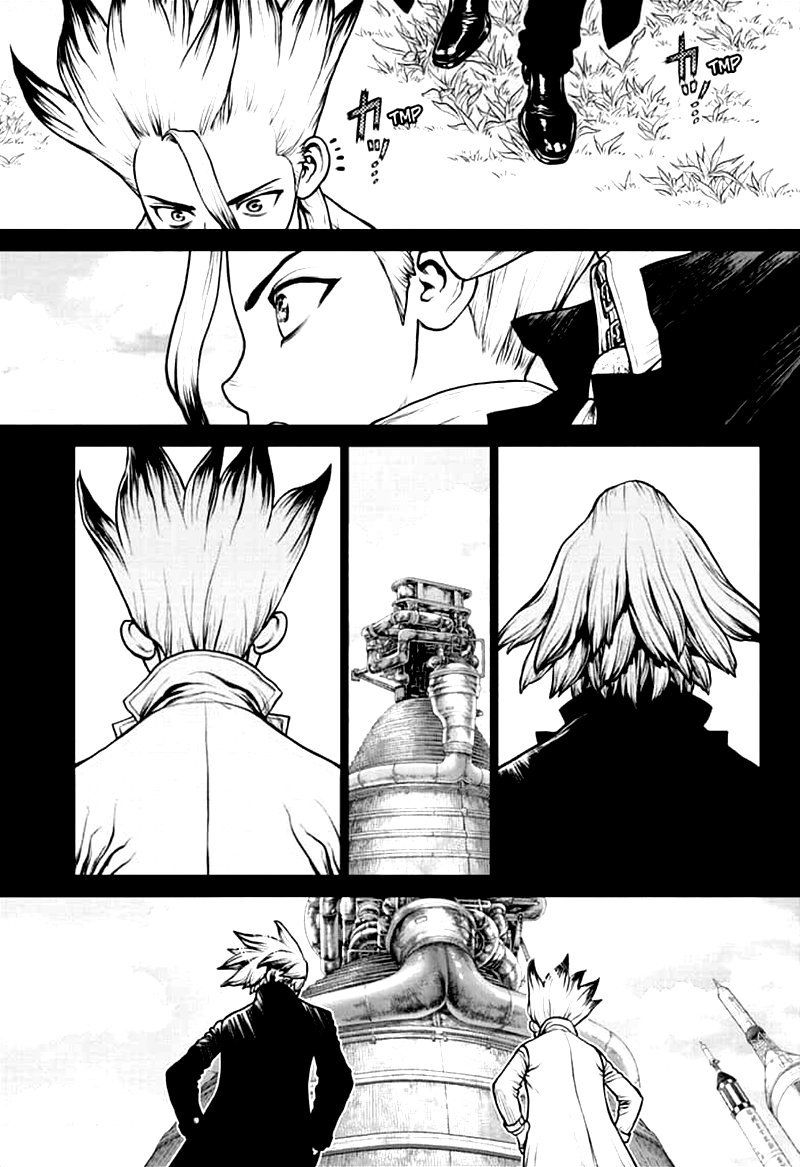 Dr. Stone : Chapter 156 - Two Scientists image 018