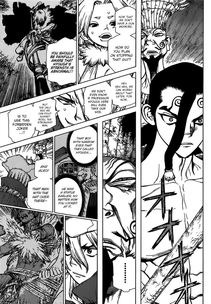 Dr. Stone : Chapter 130 - The Devils Choice image 003