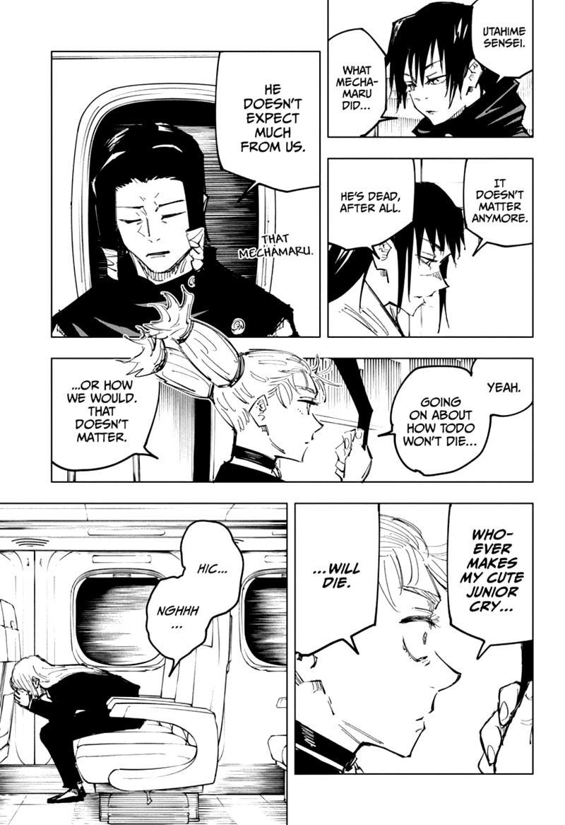 Jujutsu Kaisen, Chapter 128 image 007