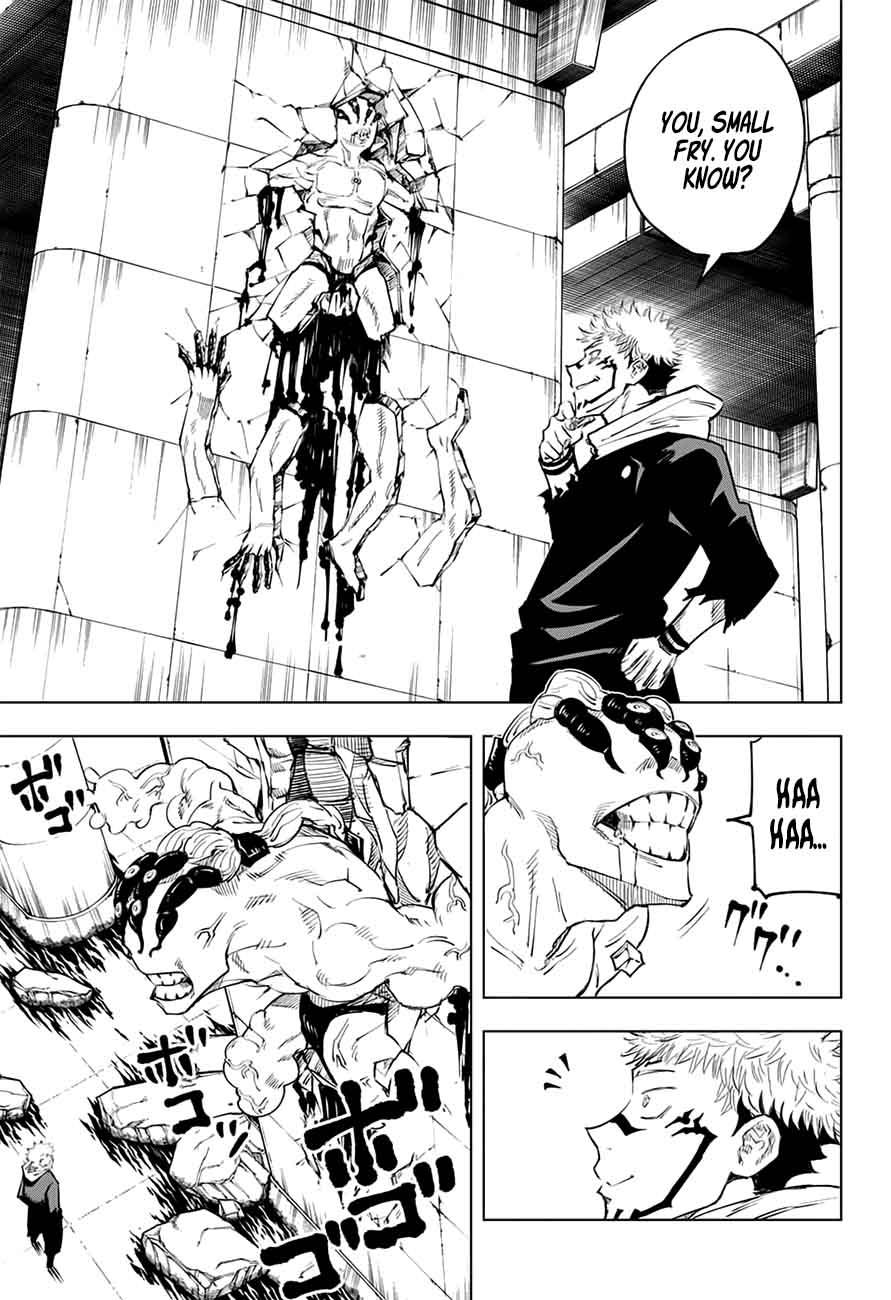 Jujutsu Kaisen, Chapter 8 image 011