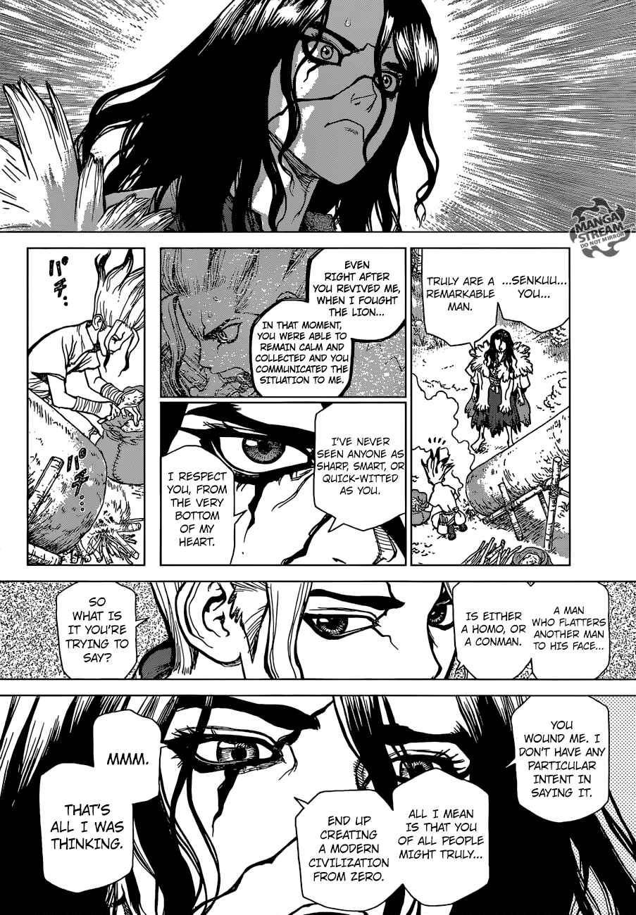 Dr. Stone : Chapter 4 - Pure white shell image 011