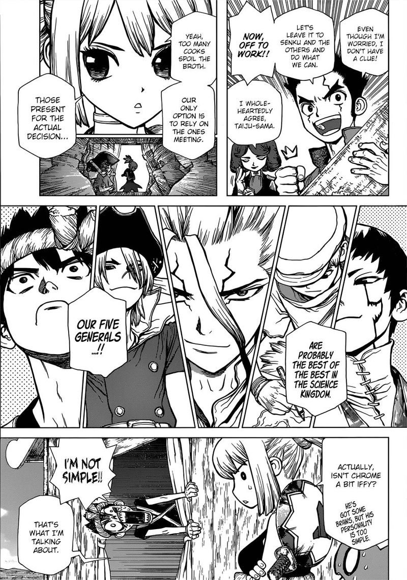 Dr. Stone : Chapter 96 - Eyes of Science image 005