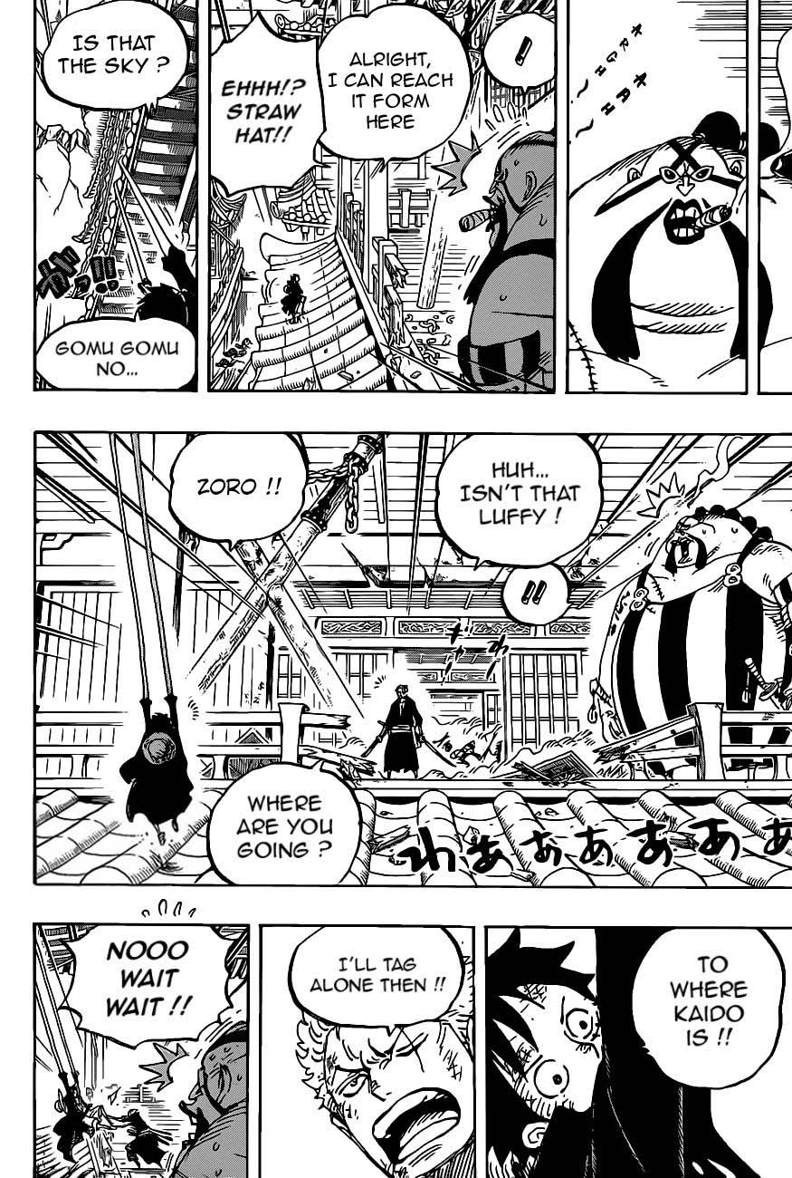 One Piece, Chapter 989 image 010