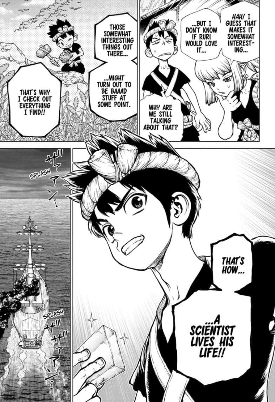 Dr. Stone : Chapter 147 - Science Journey image 011