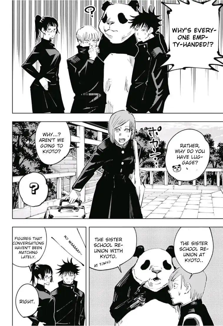 Jujutsu Kaisen, Chapter 32 image 010