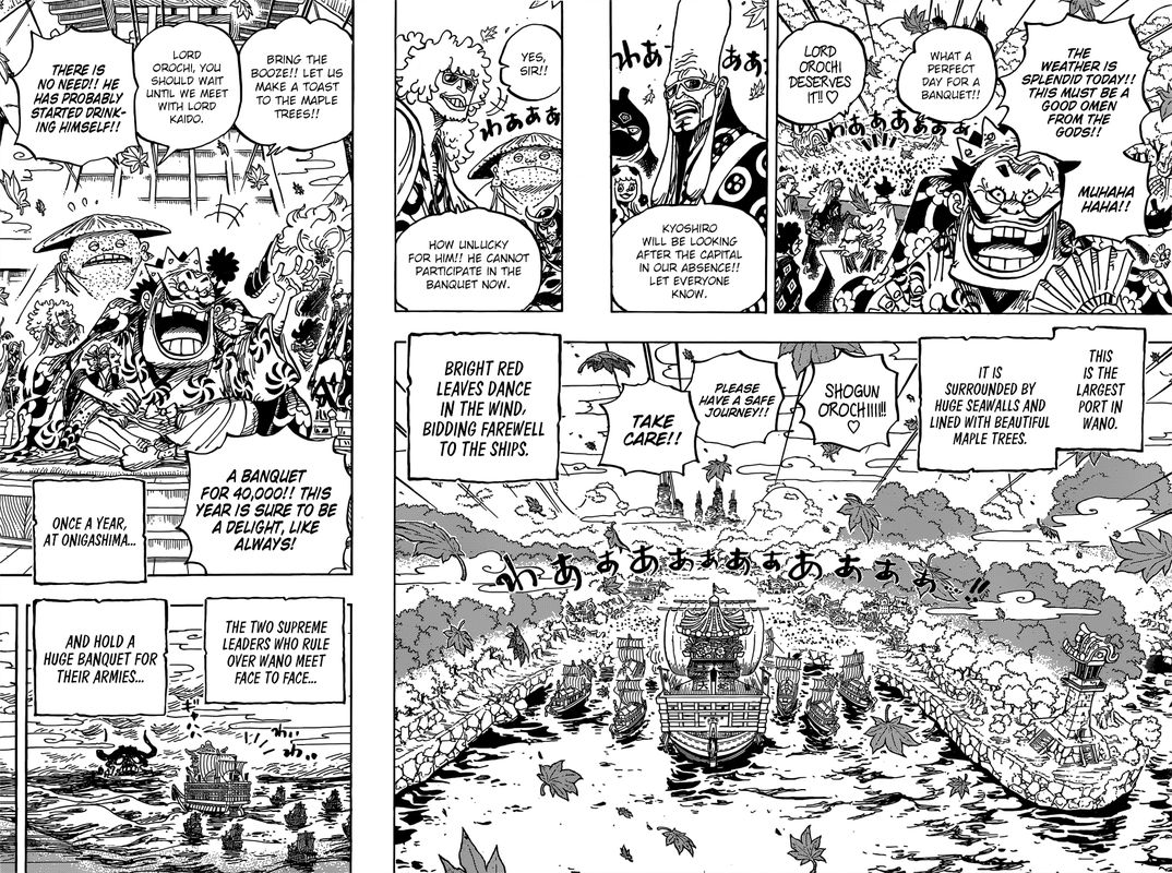 One Piece, Chapter 958 image 006
