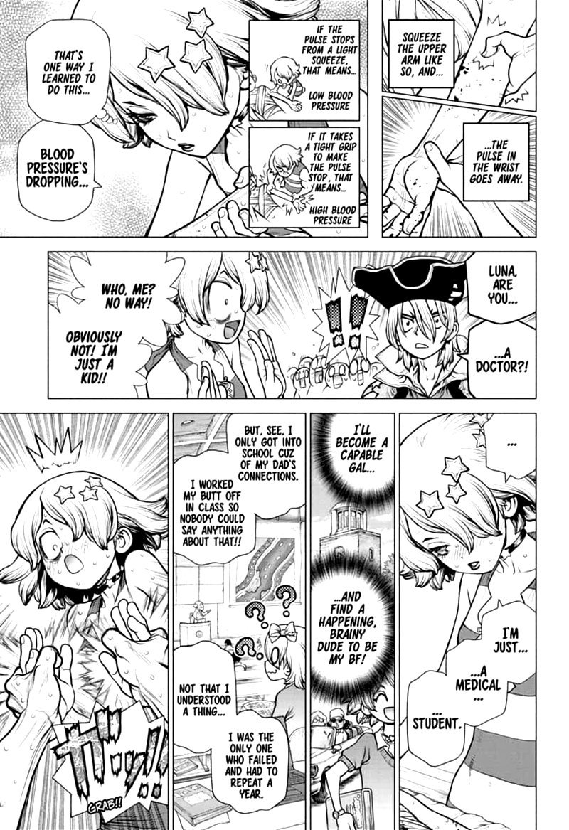 Dr. Stone : Chapter 160 - Torch of Science image 009
