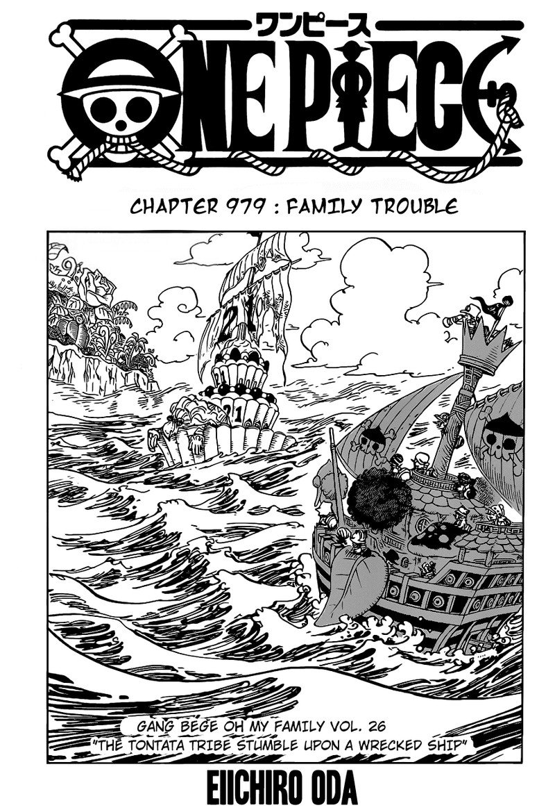 One Piece, Chapter 979 image 001