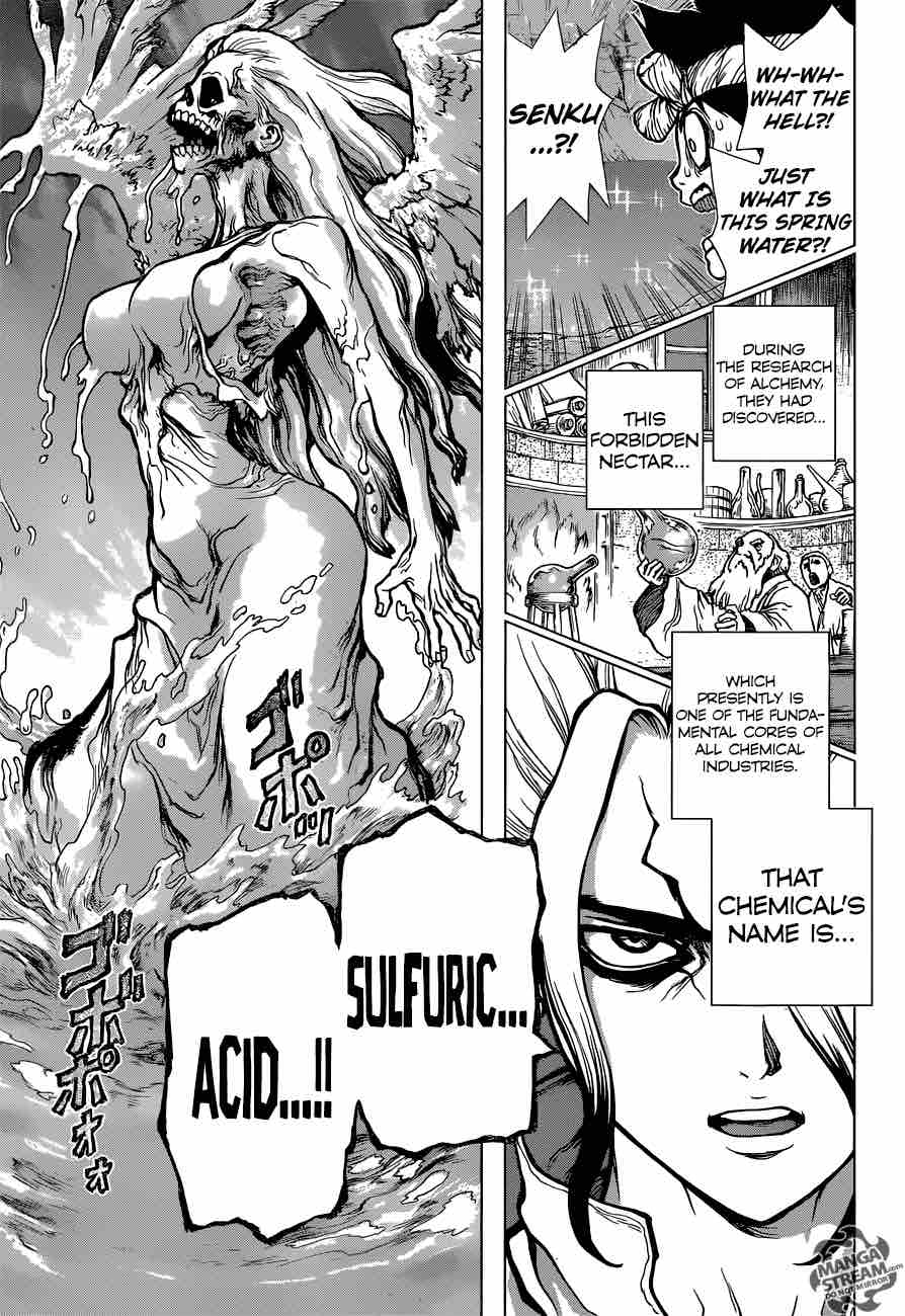 Dr. Stone : Chapter 30 - Death Green image 014