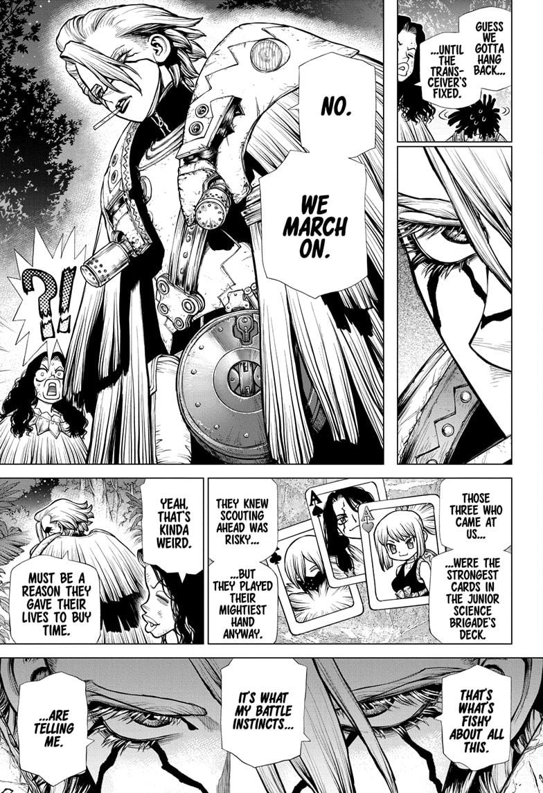 Dr. Stone, Chapter 189 image 006