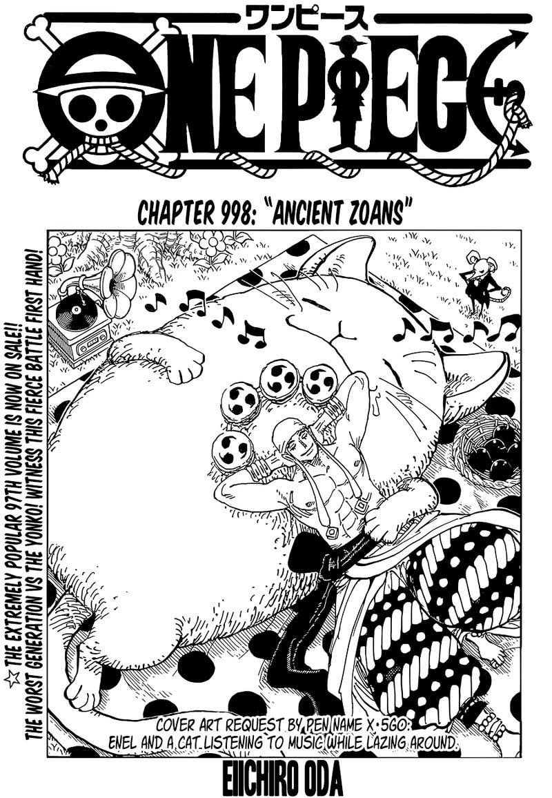 one piece manga 998 - img 001