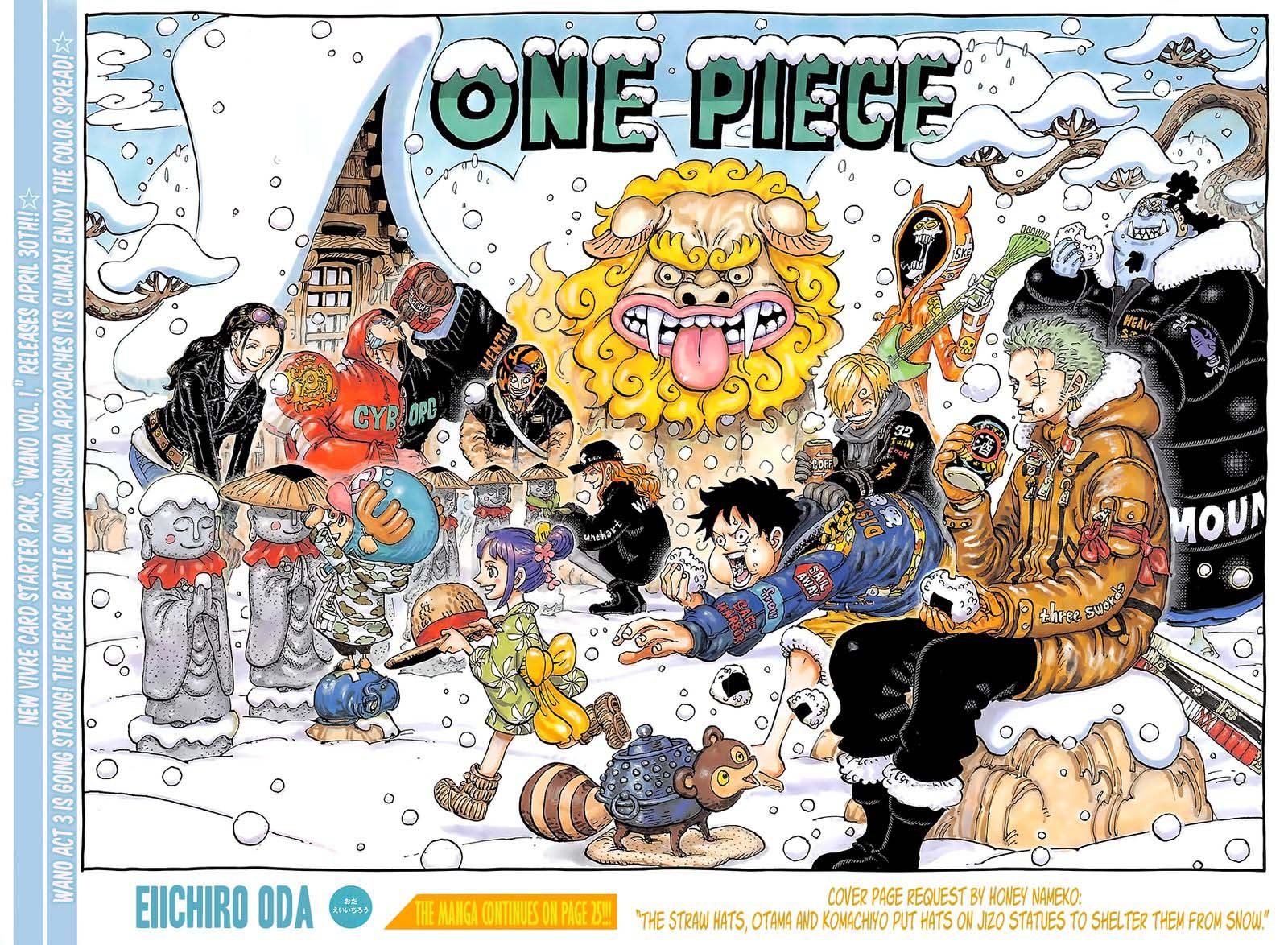 One Piece, Chapter 1009 image one_piece_1009_2