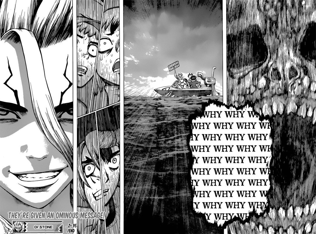 Dr. Stone : Chapter 95 - First Contact image 019