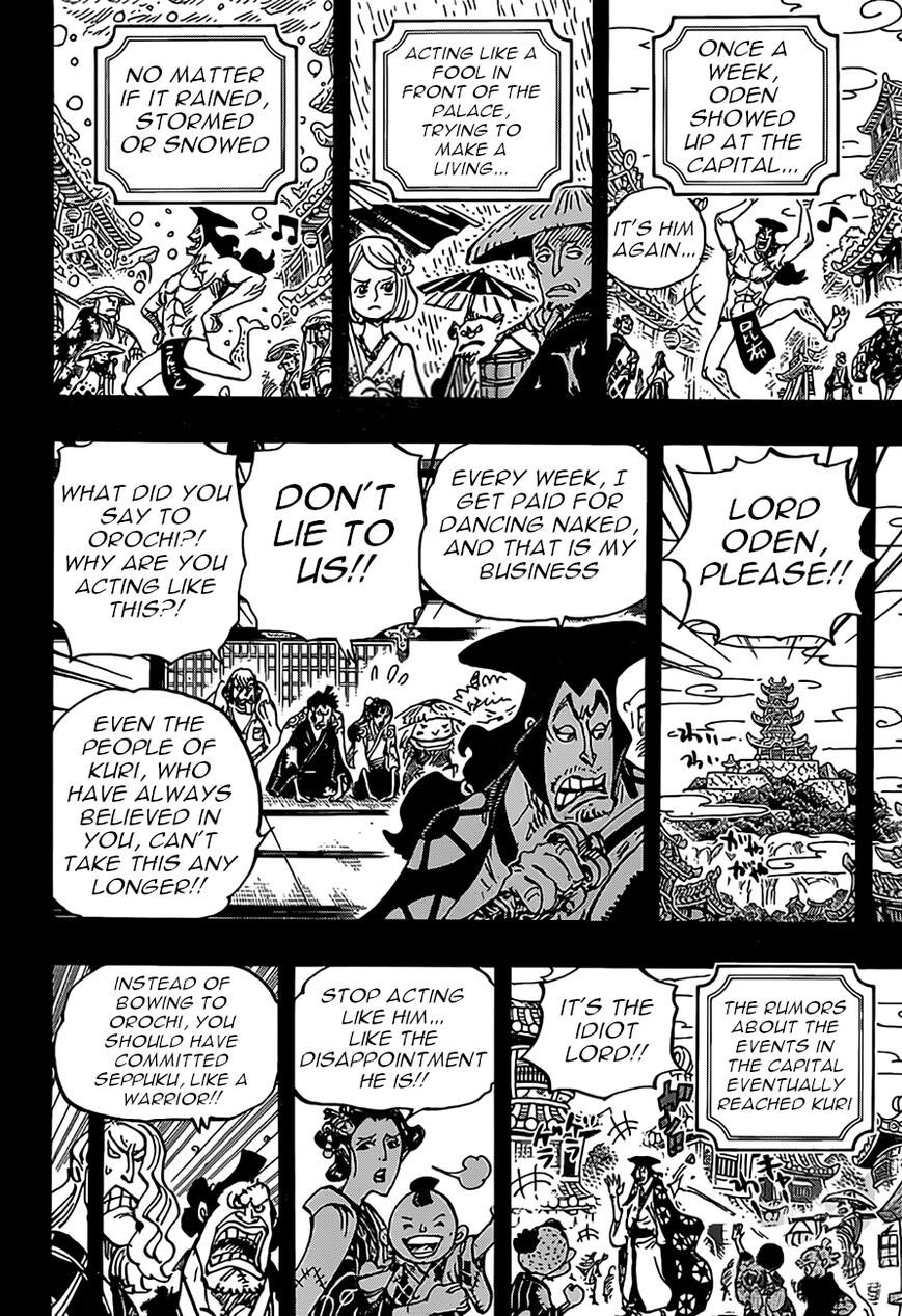 One Piece, Chapter 969 image 008