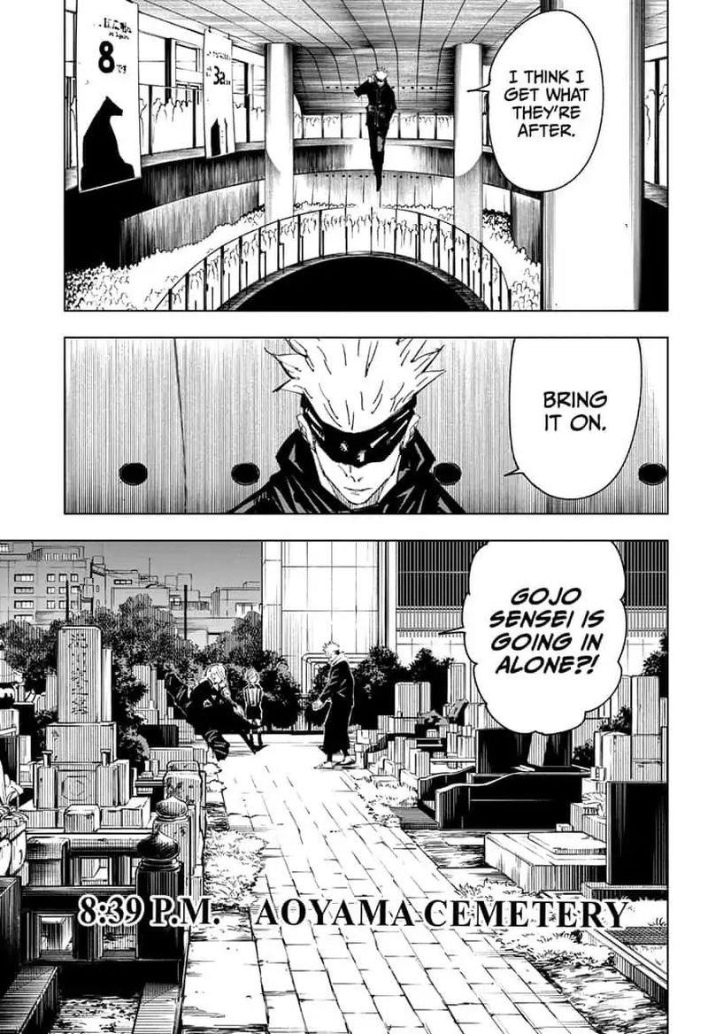 Jujutsu Kaisen, Chapter 83 image 013