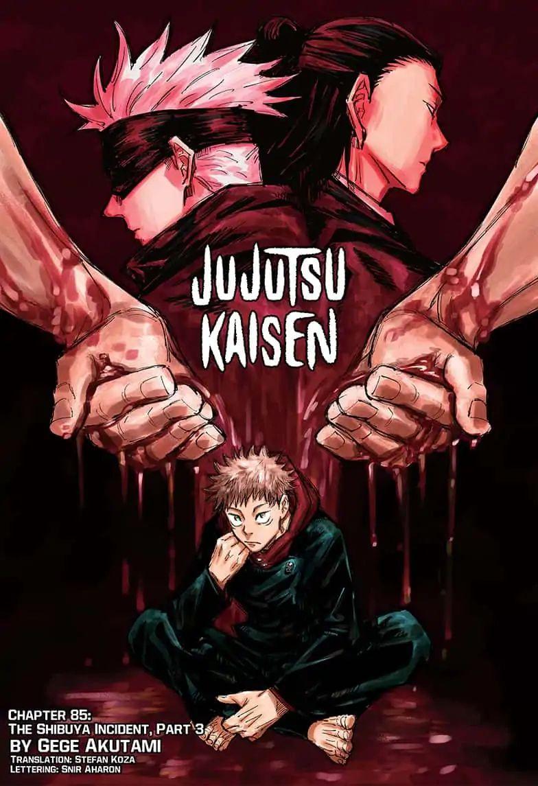 Jujutsu Kaisen, Chapter 85 image 001
