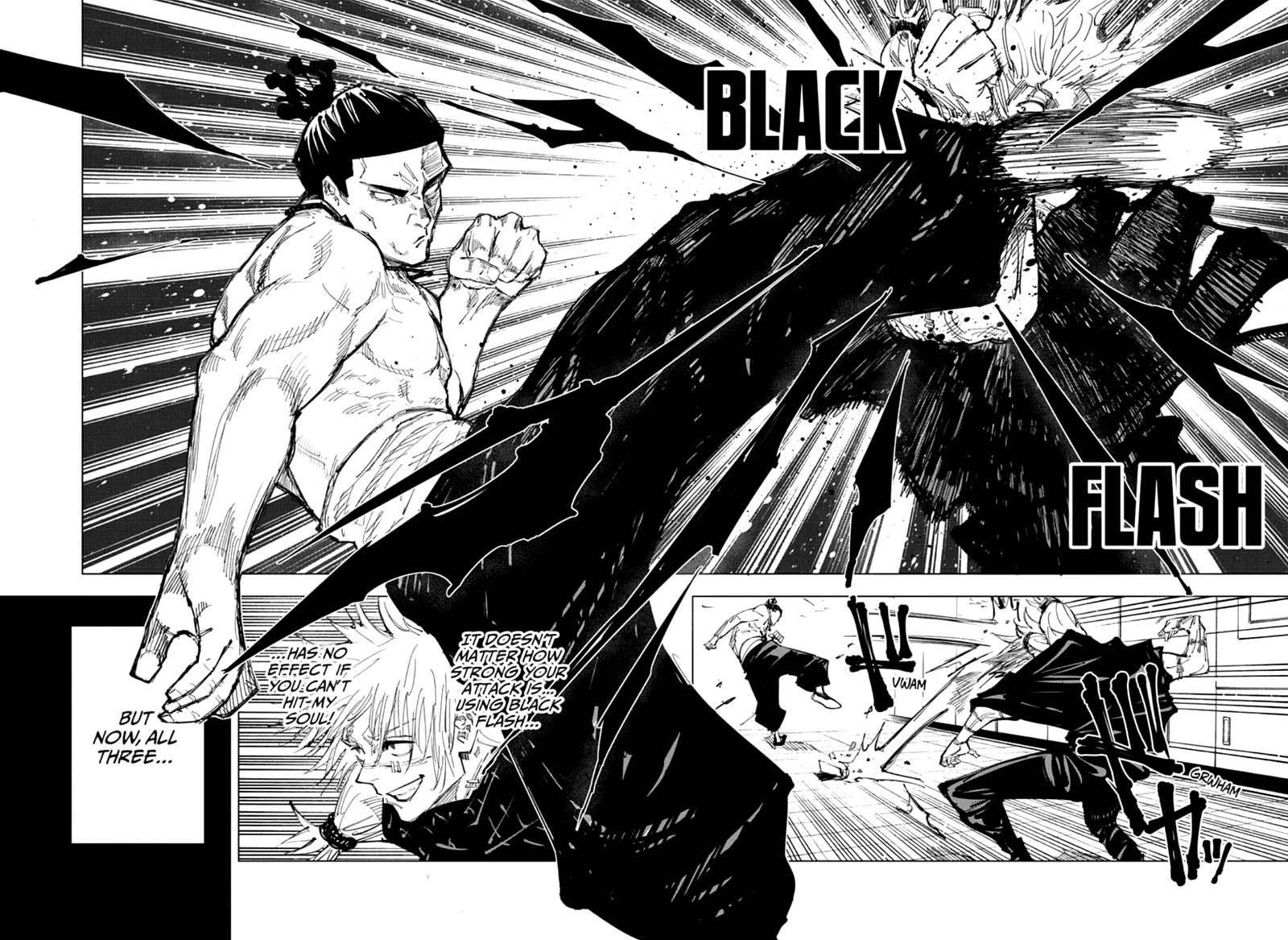 Jujutsu Kaisen, Chapter 128 image 012