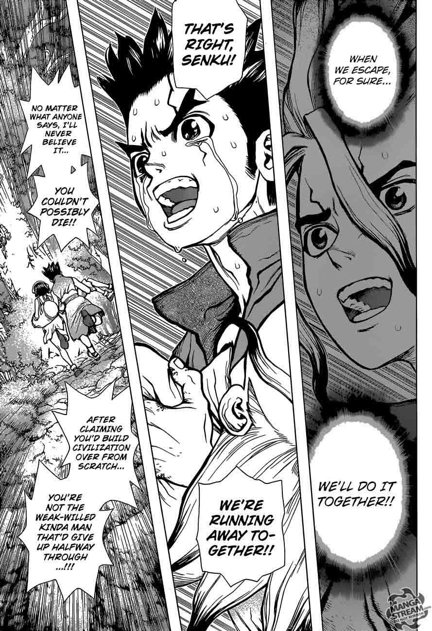 Dr. Stone : Chapter 12 - Epilogue of Prologue image 005