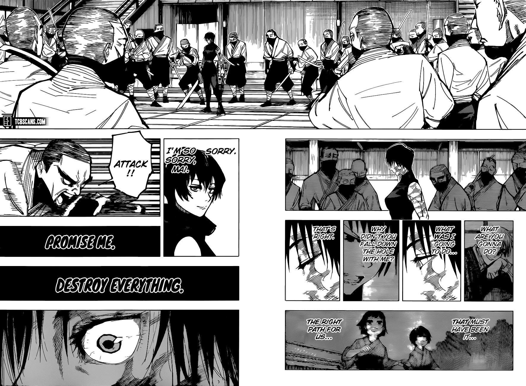 Jujutsu Kaisen, Chapter 150 image 008
